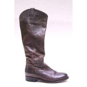 DOLCE VITA  knee high boots leather lujan brown